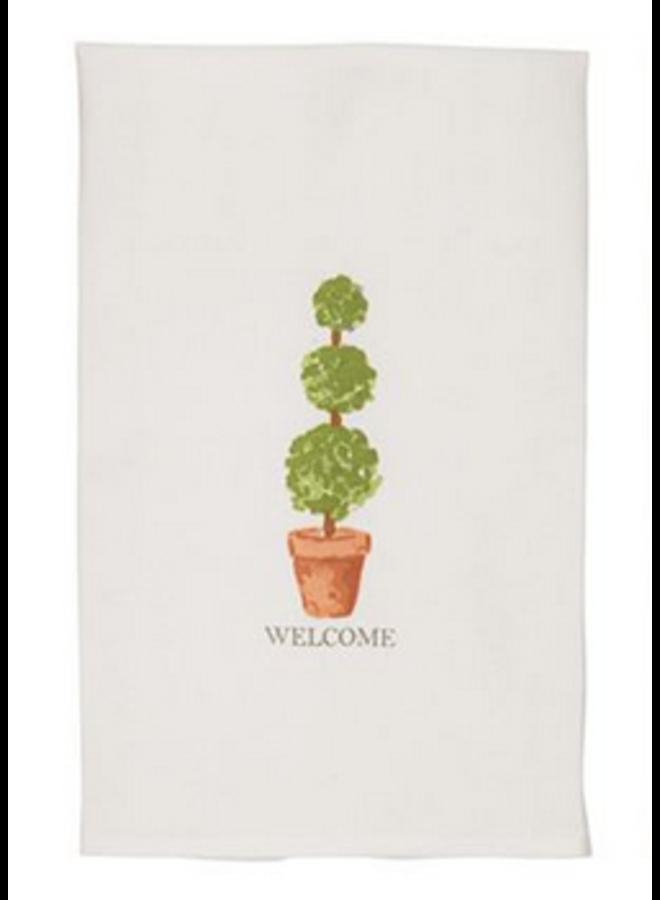 Topiary Dish Towel