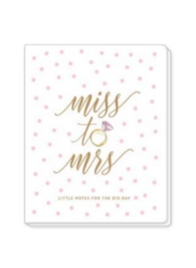Monthly Planner - Miss to Mrs