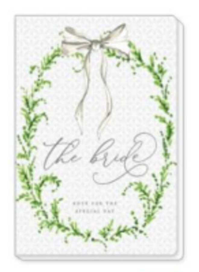 Journal The Bride - Greenery & Bow