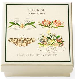 Karen Adams Gift Enclosure Box - Flourish