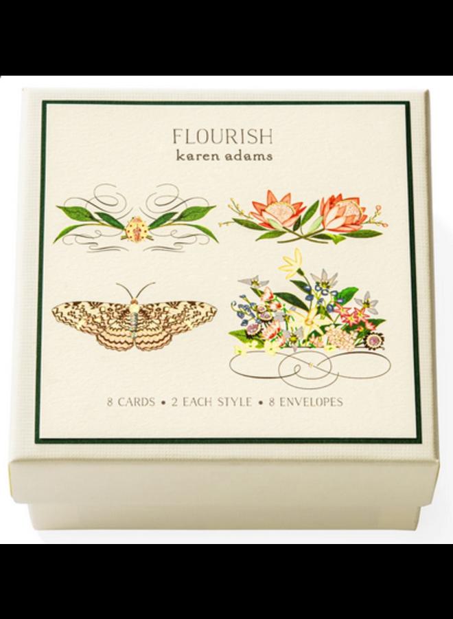 Gift Enclosure Box - Flourish