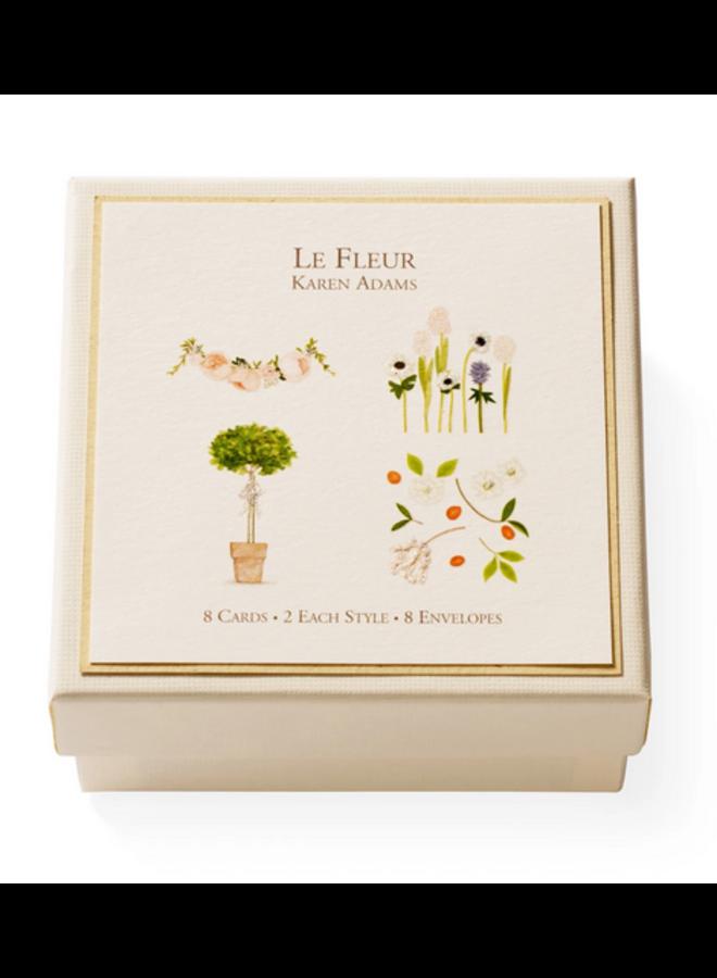 Gift Enclosure Box - Le Fleur