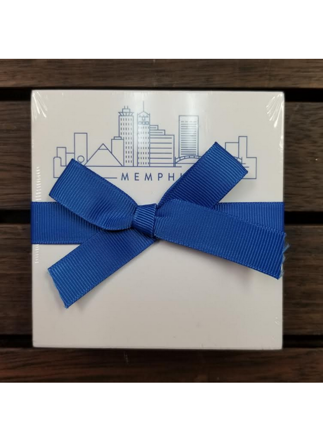 Mini Luxe Pad - Memphis Skyline