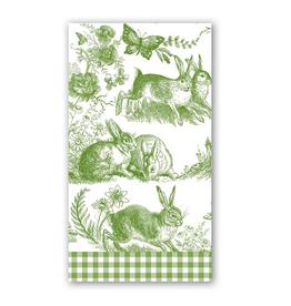 Michel Hostess Napkin Bunny Toile