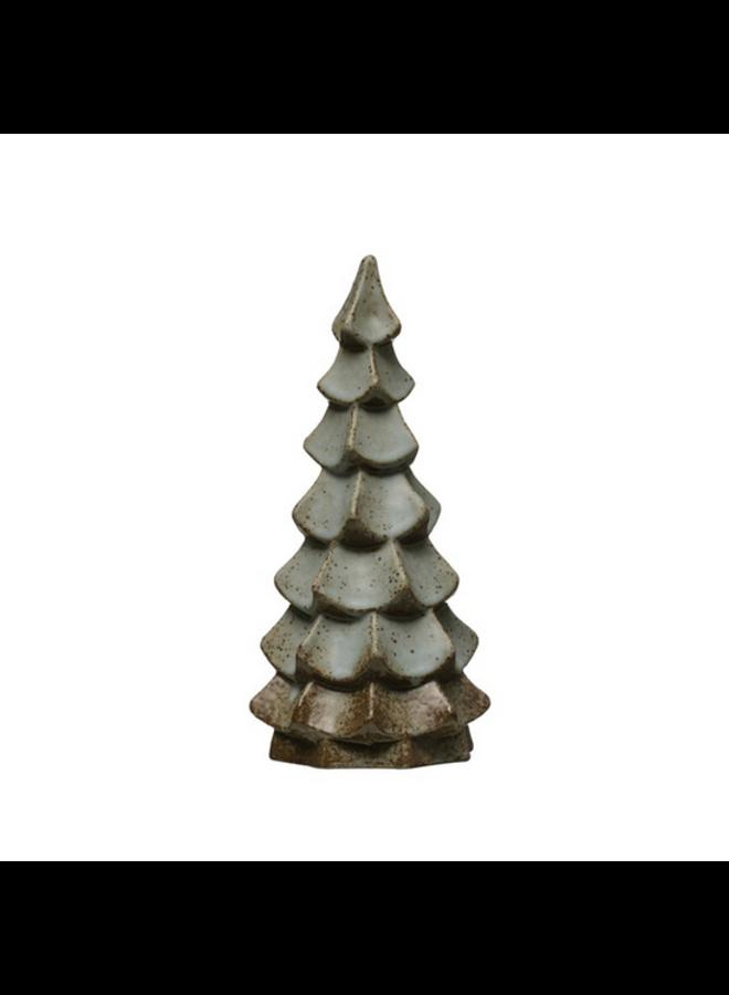 "Stoneware Tree - 9"""