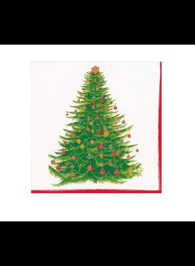 Cocktail Napkin - Glittering Tree