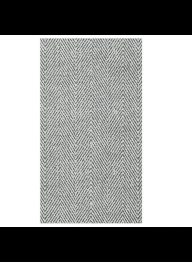 Guest Linen Towel - Jute Charcoal