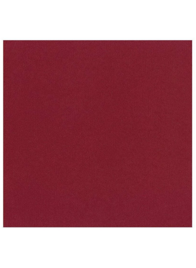 Luncheon Linen Napkin - Cranberry