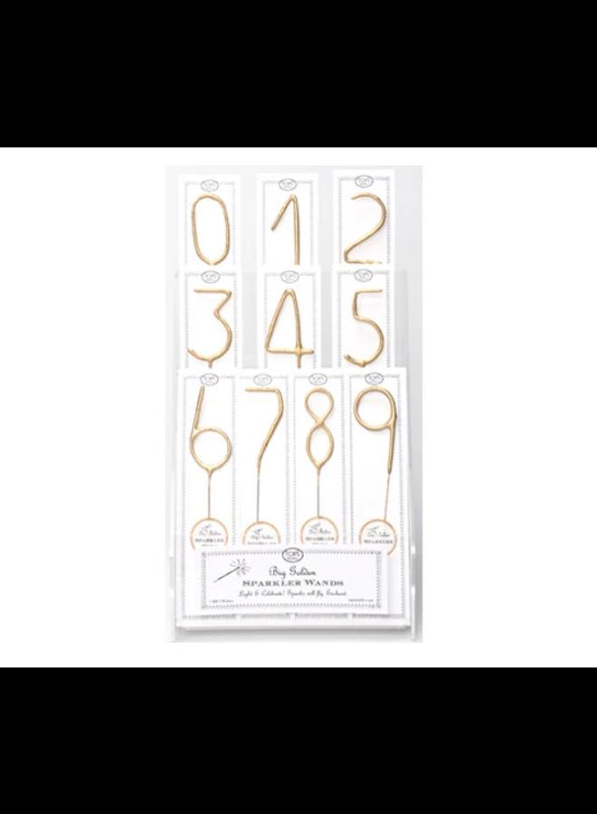 Sparkler Wand Number