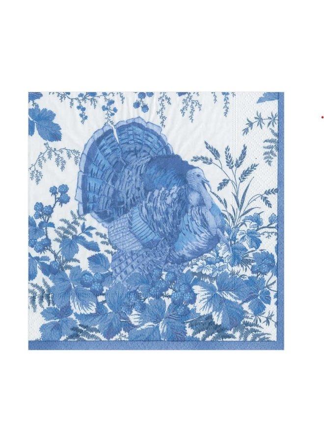 Luncheon Napkin - Turkey Toile Blue