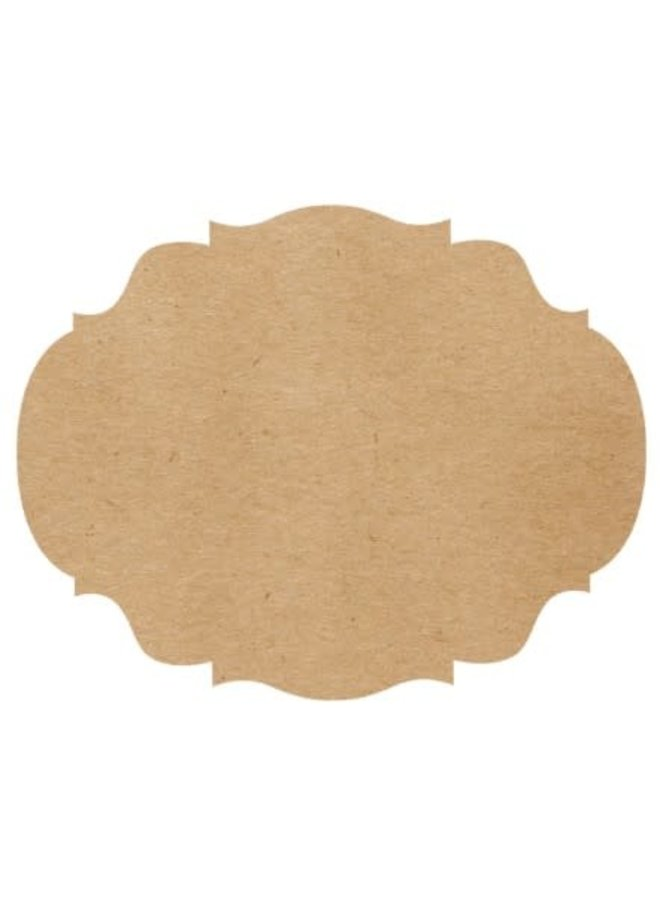 Die-Cut Placemat French Frame