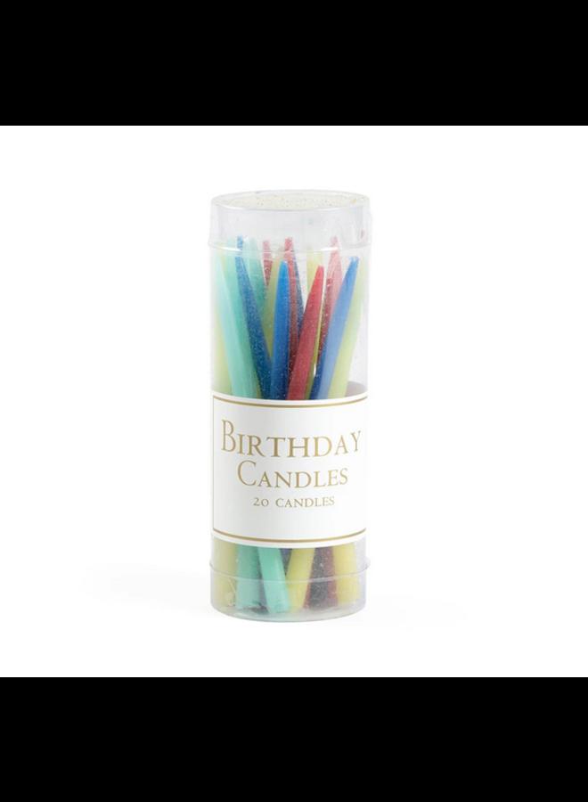 Birthday Candles - Brights