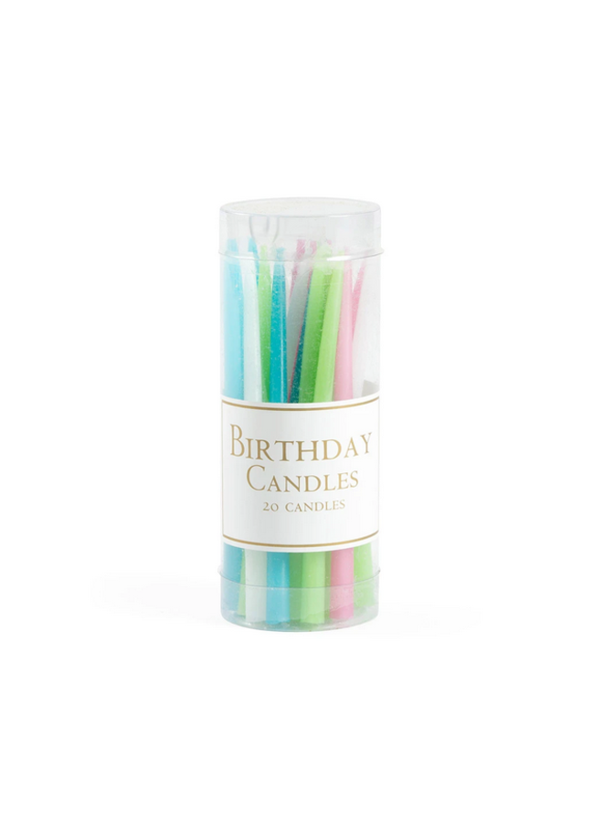 Birthday Candles - Pastels