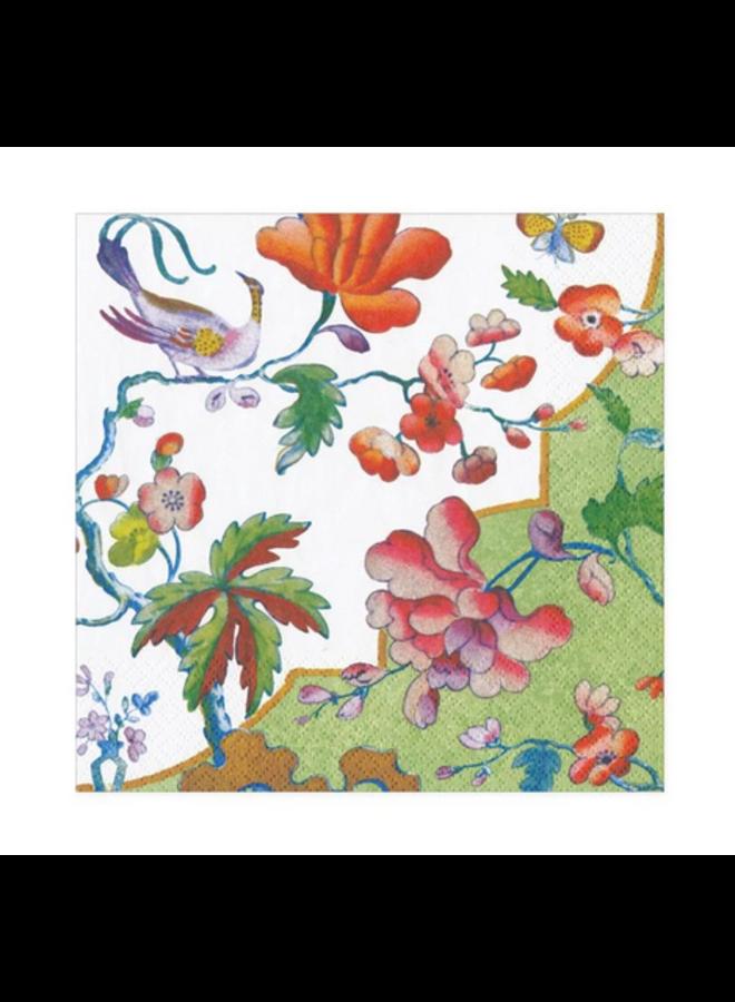 Cocktail Napkin - Summer Palace Celadon