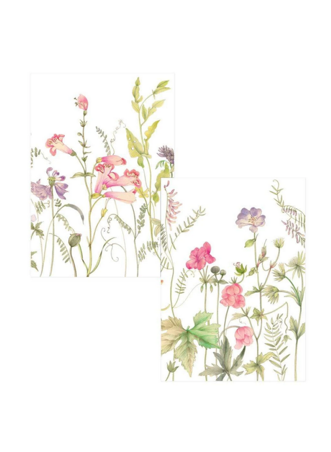Note Cards - French Floral Assorted