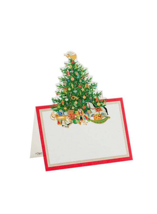 Place Cards - Die-Cut - Oh Christmas Tree