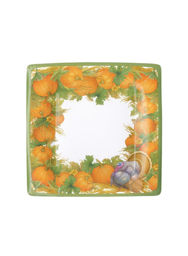 Salad Plate - Thanksgiving Harvest