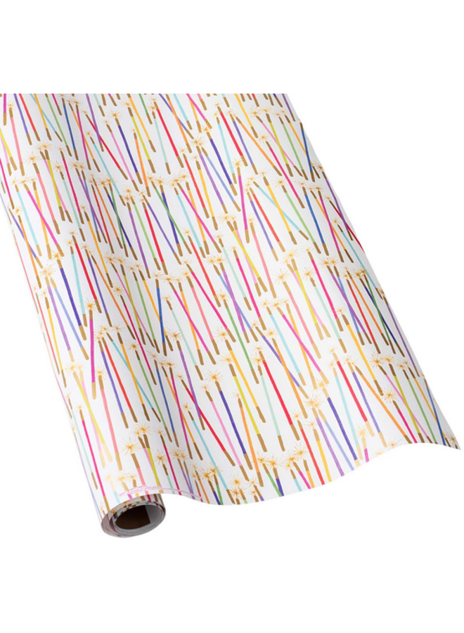 Wrapping Paper - Party Candles