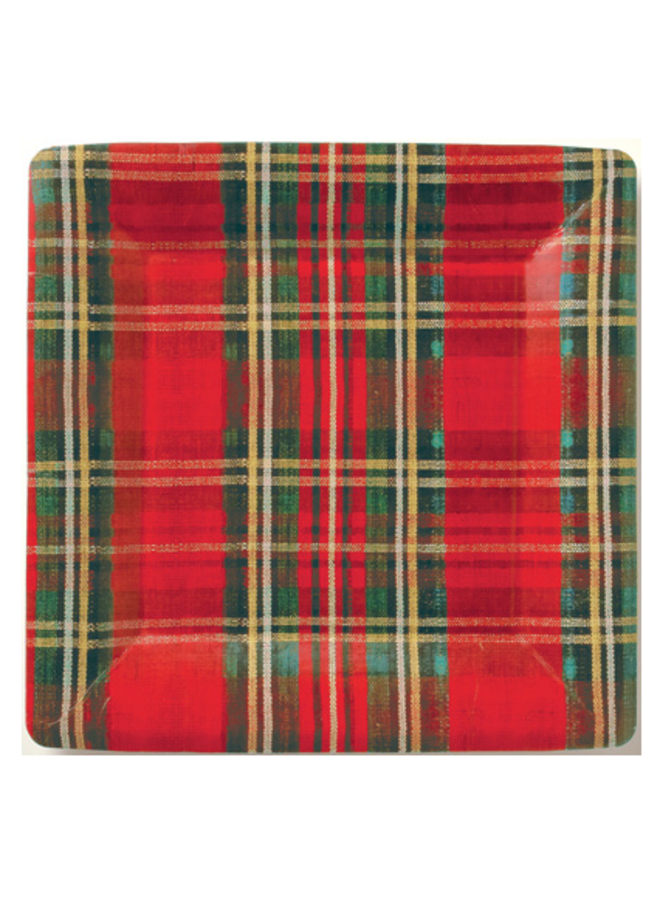 Dinner Plate - Classic Check