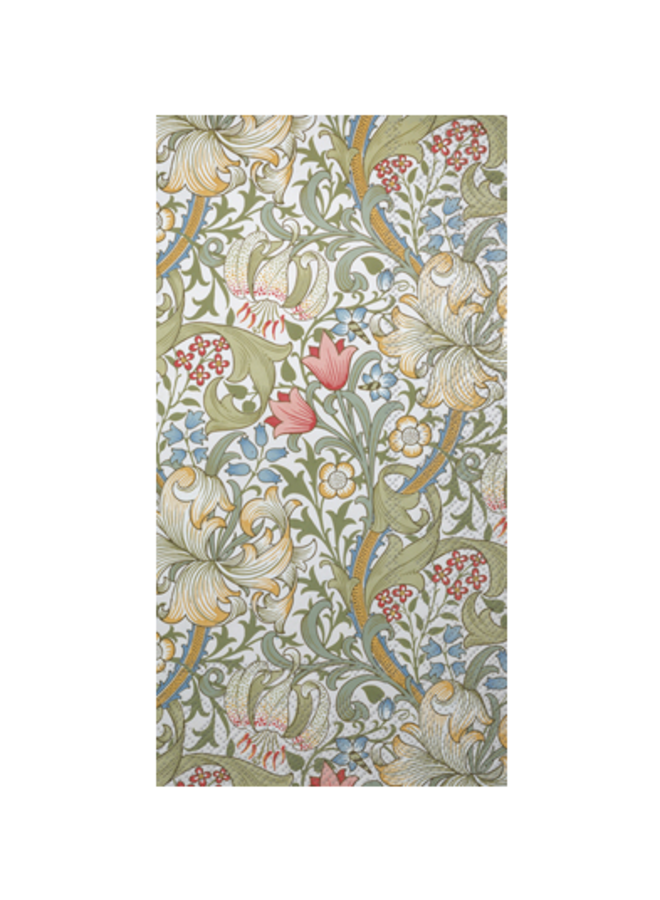 Guest Towel - Golden Lily White