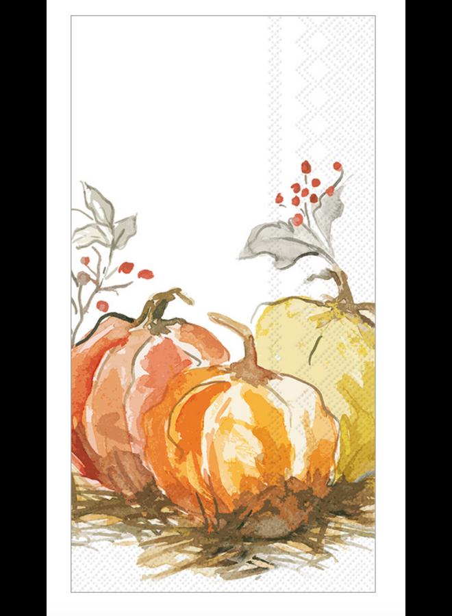 Guest Towel - Painted Pumpkin