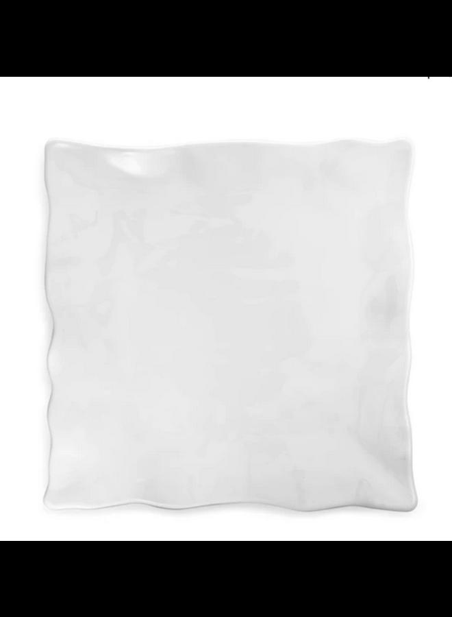 Melamine - Ruffle Square Platter