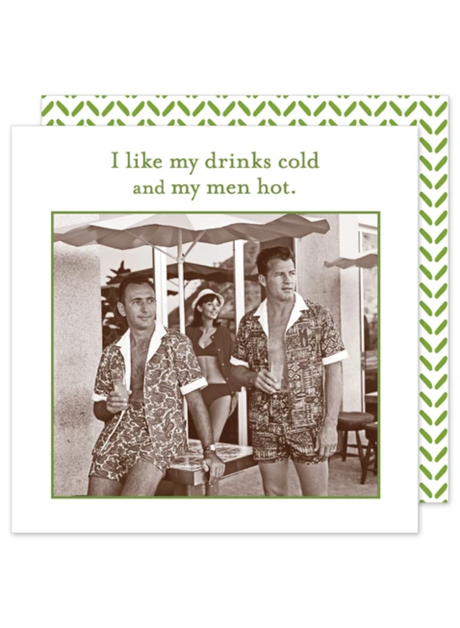 Cocktail Napkin - Drinks Cold