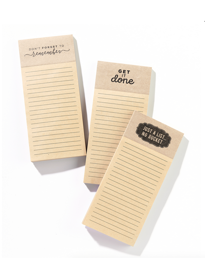 Magnetic Shopping Note Pad