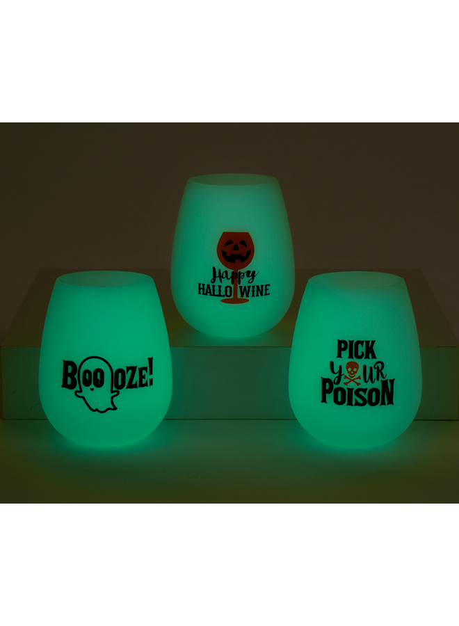 Spooky Glow Wine Cup