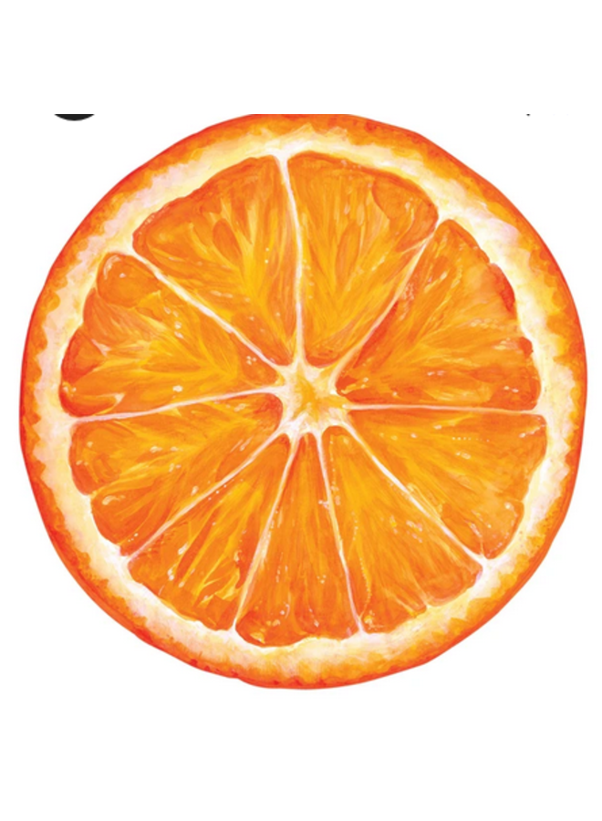 Die-Cut Placemat Orange Slice