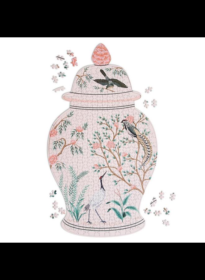 Flora & Fauna Ginger Jar Puzzle
