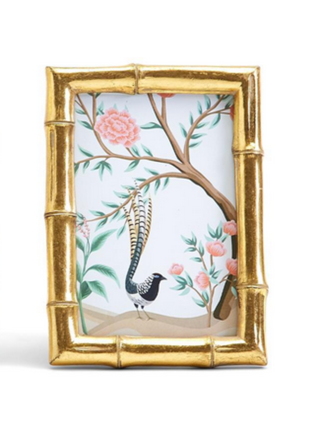 Gold Faux Bamboo Frame