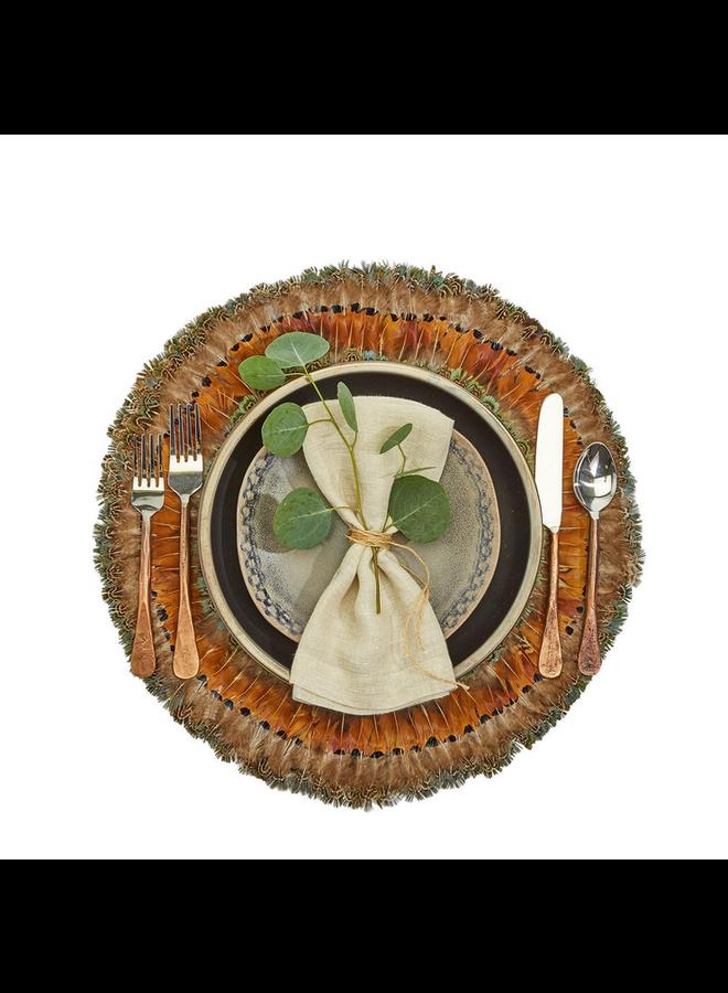 Pheasant Park Round Decorative Mats