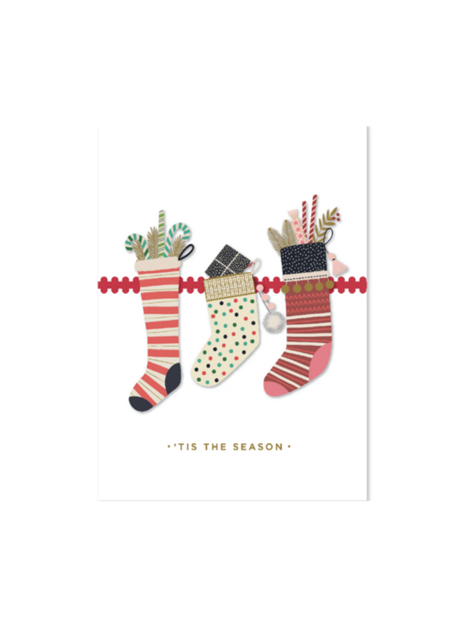 Stockings Boxed Cards