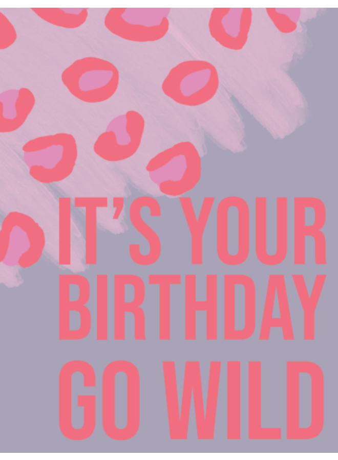 Go Wild Birthday