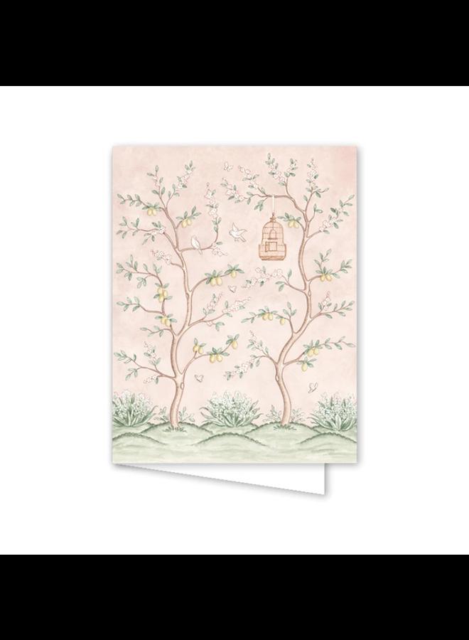 Chinoiserie Garden Card