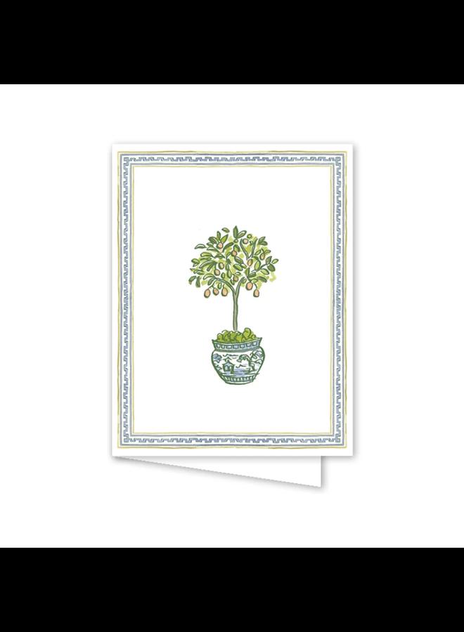 Topiary Trimmings Card