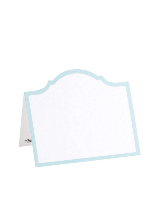 Place Cards - Die-Cut - Arch Robin's Egg Blue