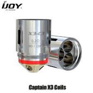 iJoy Captain X3 Coils