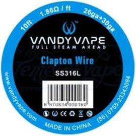 Vandy Vape Clapton Kanthal A1 Series Wire