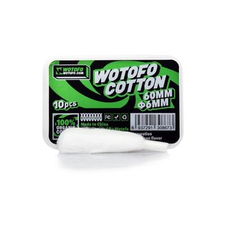 Wotofo Agleted Organic Cotton 6mm