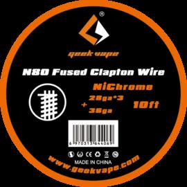 GeekVape N80 Fused Clapton NiChrome Wire