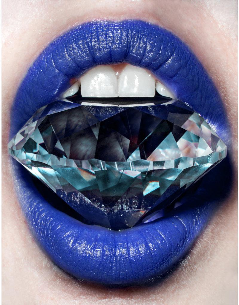 Shine Bright up Like A Diamond (Blue)