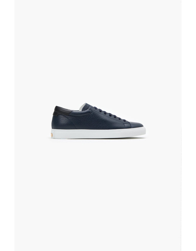 Closed Navy Nappa Leather Sneaker