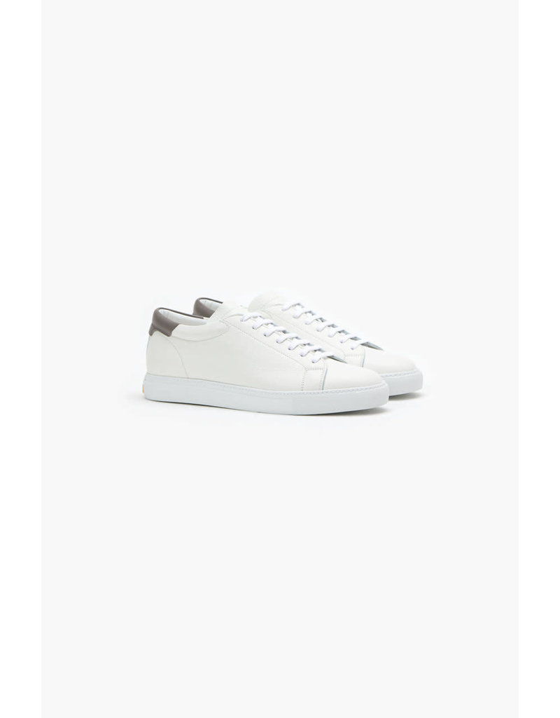 Closed White Nappa Leather Sneaker