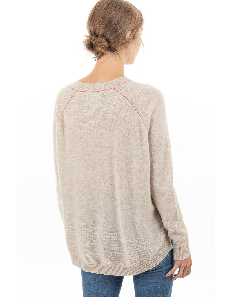 Paychi Guh Paychi Guh airy textured crew