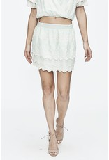 Love Sam Love Sam tallulah embroidered mini skirt