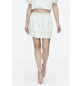 Love Sam Tallulah embroidered mini skirt