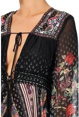 Camilla Camilla Peasant Maxi with Tie-Front