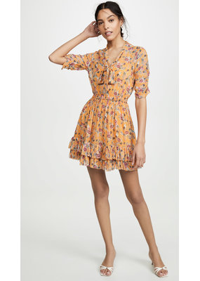 Nicholas Ruffle Mini Dress